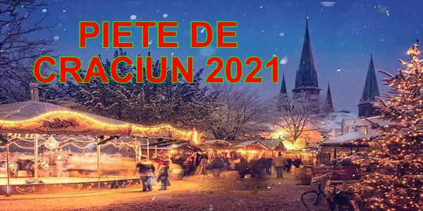 Piete de Craciun 2021 - early booking - Viena - Budapesta - Praga