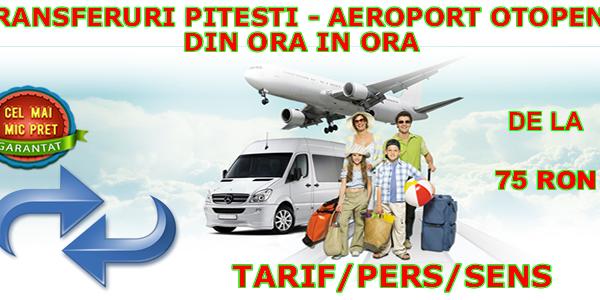 Transport autocar zilnic din ora in ora Pitesti - aeroport Otopeni (Henri Coanda) - rezervari online si in agentie
