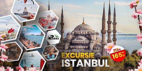 Vizita si shopping la Istanbul 2021 - 5 zile autocar - plecari din Bucuresti si Pitesti - rezervari online