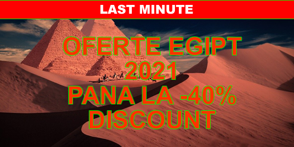Oferte last minute Egipt 2021 - charter avion - Hurghada - Marsa Alam - Makadi Bay